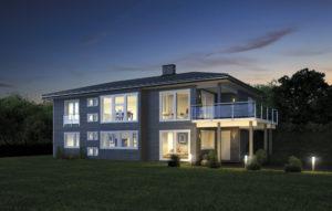 Bygge hus med utleiedel