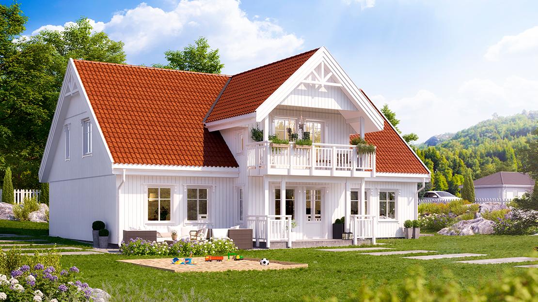 klassisk hus hedalm